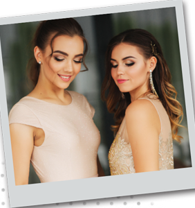 $10 OFF A PROM GLAM PACKAGE*